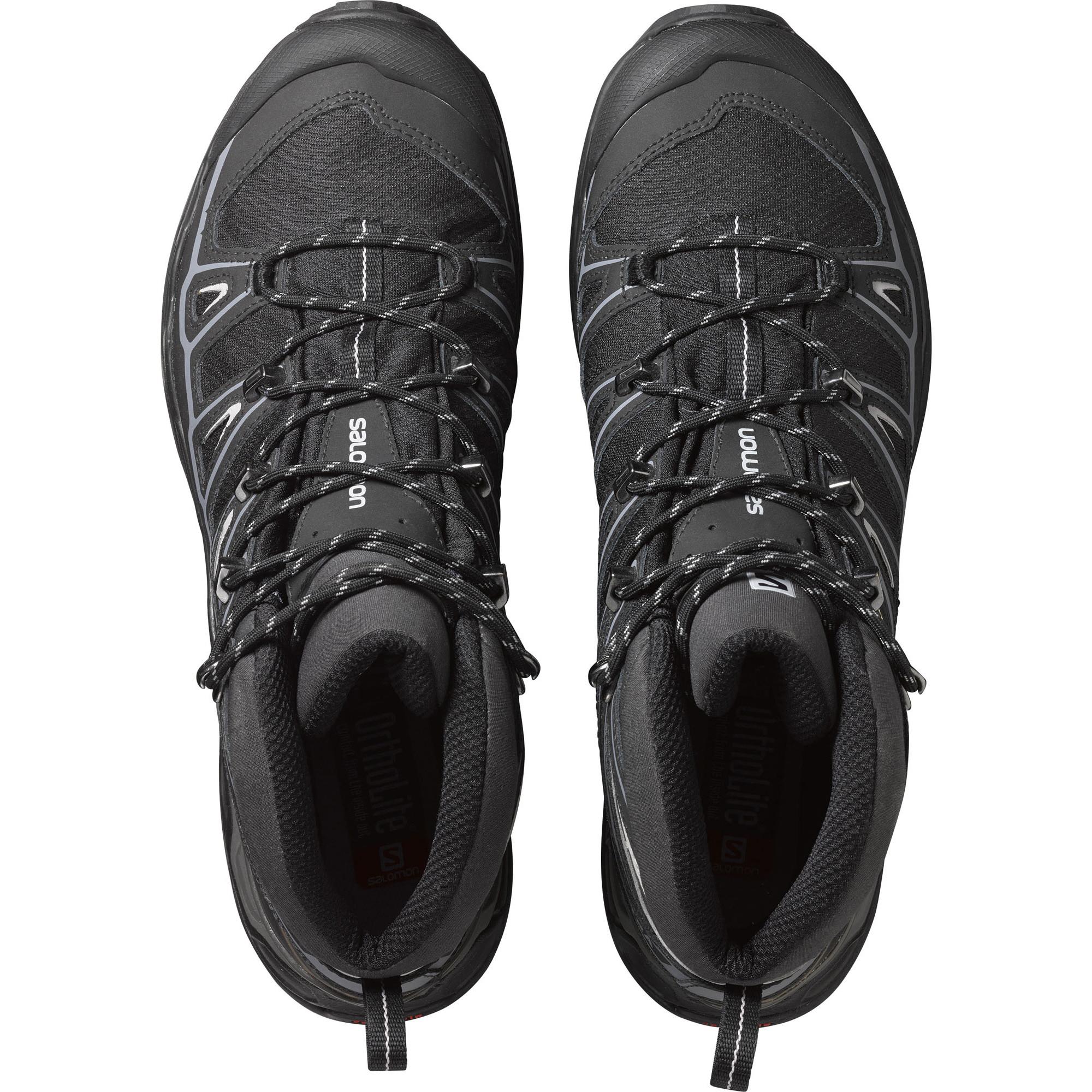 Viola pubblicizzare Collettivo  Semighete alergare Salomon X Ultra Mid 2 Spikes Gore-Tex pentru barbati