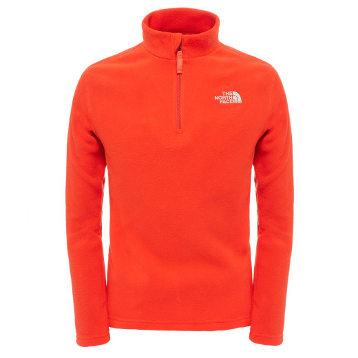 Jacheta Polartec Copii The North Face Y Glacier 1/4 Zip