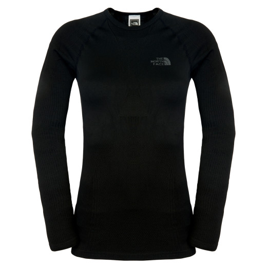 Bluza corp The North Face W HYBRID L/S ZIP NECK FW14