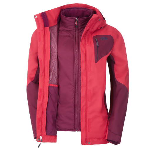 Geaca The North Face W ZENITH TRICLIMATE FW14