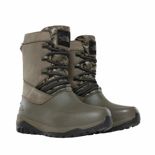 Ghete Femei The North Face Yukiona Mid Boot New Taupe Green/Tnf Black
