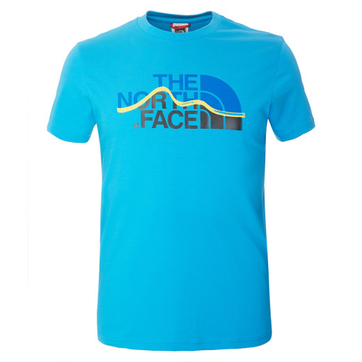 Tricou The North Face M S/S Mountain Line