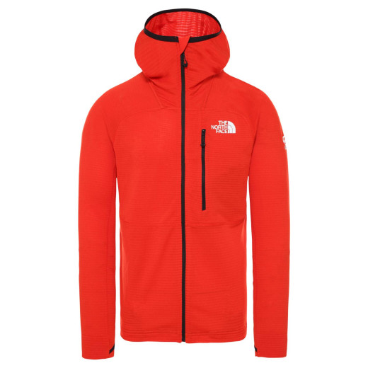Polar Drumetie Barbati The North Face Summit L2 Power Grid Fiery Red