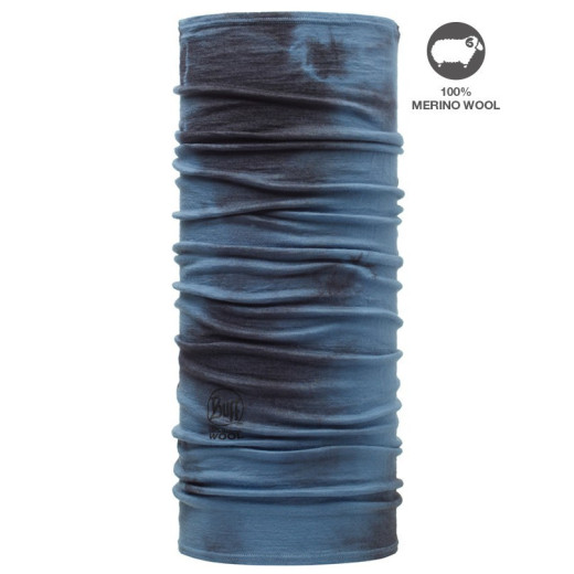 Esarfa Lana Wool Buff® China Blue Dye
