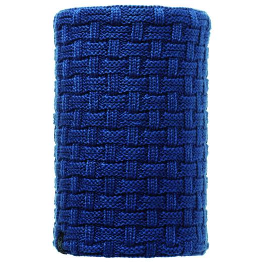 Neckwarmer Buff Knitted & Polar Airon Blue
