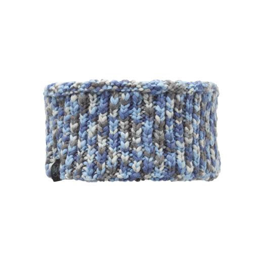 Bandana Buff Knitted & Polar Kama Blue