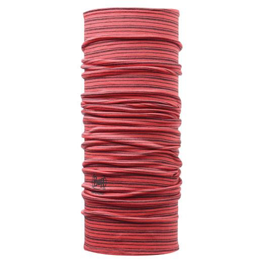 Esarfa Buff Wool Ad Tie Dye&Dyed Stripes Cayenne