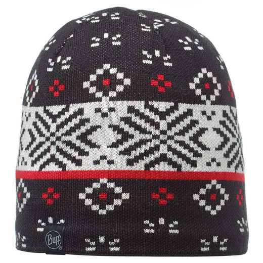 Caciula Buff Knitted & Polar Jorden Black