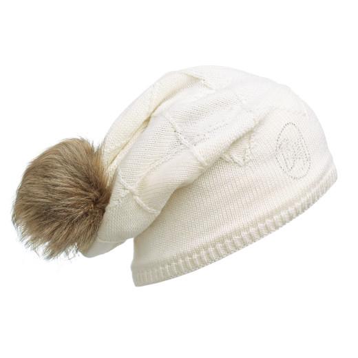 Caciula Buff Knitted & Polar Stella Chic Cream