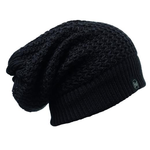 Caciula Buff Knitted Neckwarmer Ramdon Black