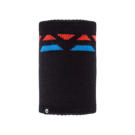 Neckwarmer Buff Knitted & Polar Riger Black