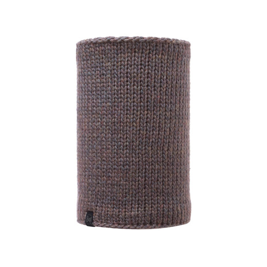Neckwarmer Buff Knitted & Polar Lile Brown