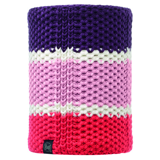Neckwarmer Buff Jr Knitted&Polar Kith / Mardi Grape