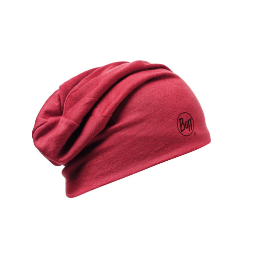 Caciula Buff Merino Wool 2 Layers Solid Grana