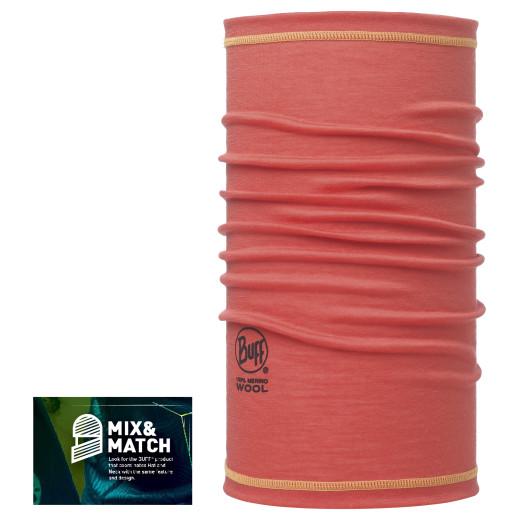 Esarfa Buff Wool AD 3-4 Coral