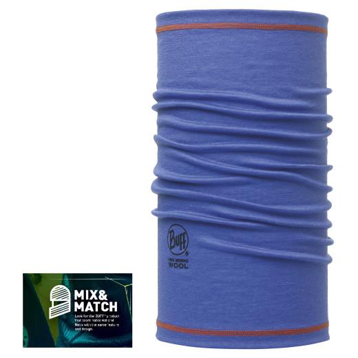 Esarfa Buff Wool AD 3-4 Blue Ink