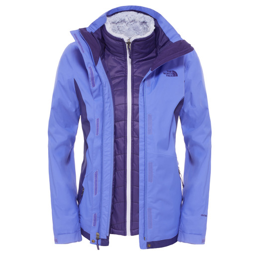 Geaca The North Face W Mossbud Swirl Triclimate