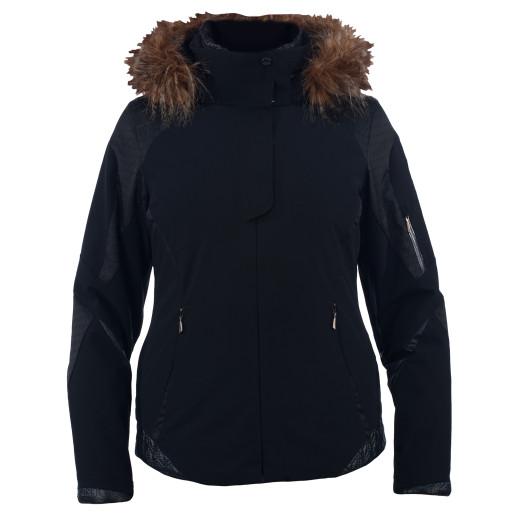 Geaca Ski Spyder Posh Faux Fur