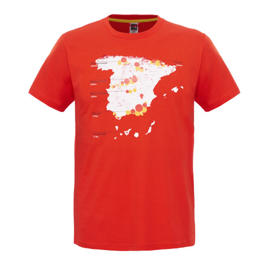 Tricou The North Face M S/S Country Peak