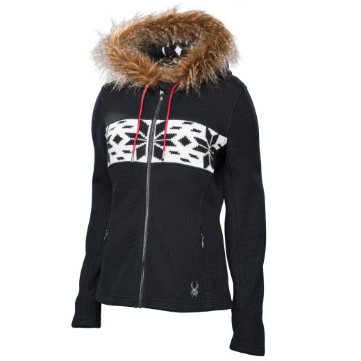 Polar Spyder Soiree Hoody W Faux Fur