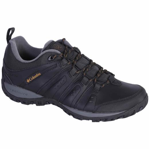 Pantofi Barbati Columbia Woodburn II Waterproof Negru