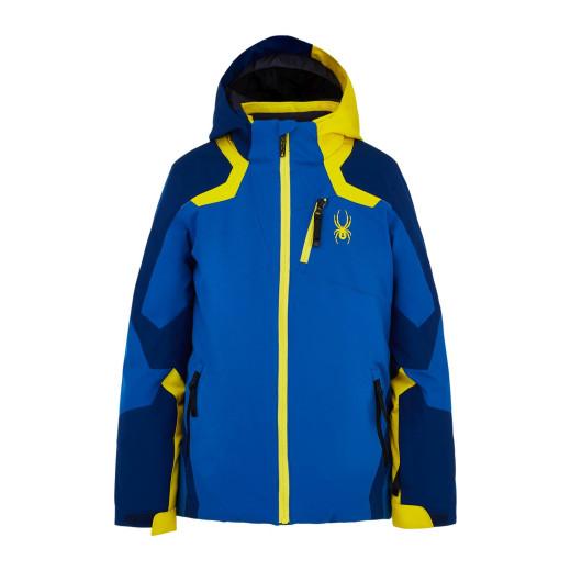 Geaca Ski Copii Spyder Leader Albastru