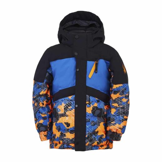 Geaca Ski Copii Spyder Trick Multicolor