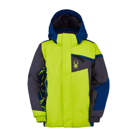 Geaca Ski Copii Spyder Challenger Verde