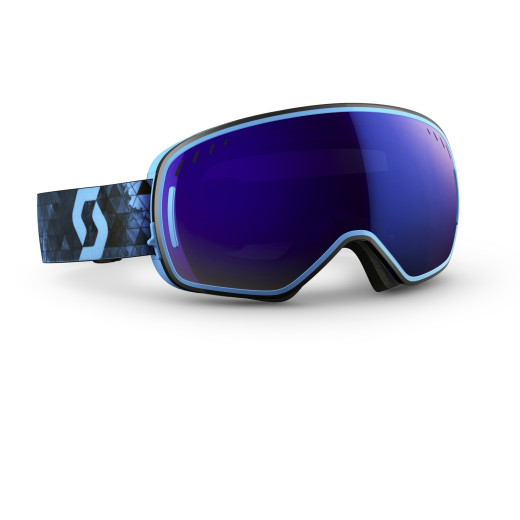 Ochelari Ski Scott LCG Ink Blue / Solar Blue Chrome