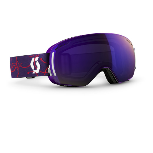 Ochelari Ski Scott LCG Compact Purple / Purple Chrome