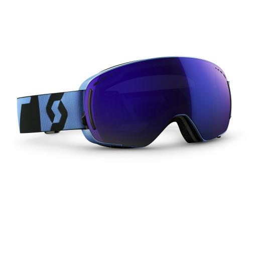 Ochelari Ski Scott LCG Compact Neon Blue / Solar Blue Chrome