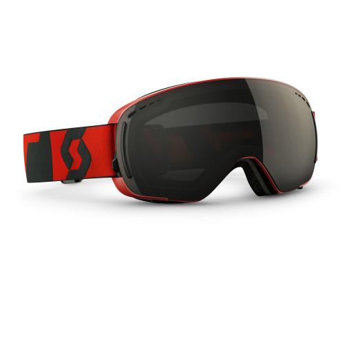 Ochelari Ski Scott LCG Compact Neon Red / Solar Black Chrome