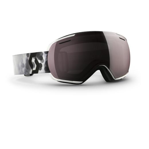 Ochelari Ski Scott Linx Blur White / Silver Chrome