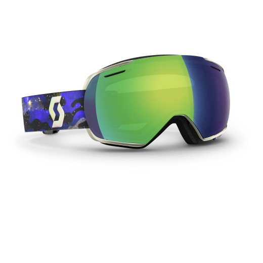 Ochelari Ski Scott Linx Cosmic Camo Blue / Green Chrome