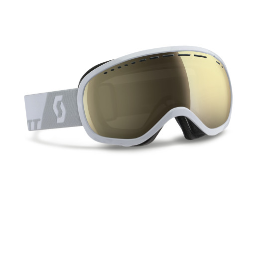 Ochelari Ski Scott Off-Grid White / Light Sensitive Amp Bronze Chrome