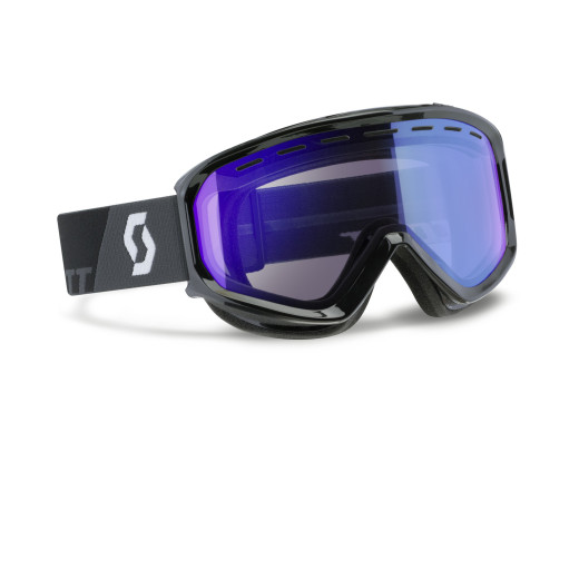Ochelari Ski Scott Level Black / Illuminator Blue Chrome