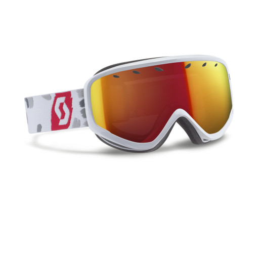 Ochelari Ski Scott Capri White/Red / Red Chrome