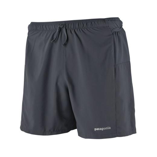 Pantaloni Scurti Alergare Barbati Patagonia Strider Pro Smolder Blue - 5 inch