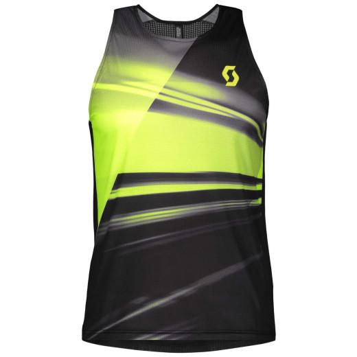 Maiou Alergare Barbati Scott RC Run Black / Yellow