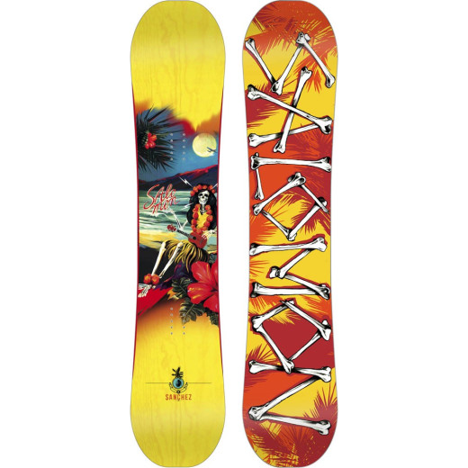 Placa Snowboard Salomon Sanchez