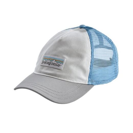Sapca Femei Patagonia Pastel P-6 Label Layback Trucker Alb / Gri