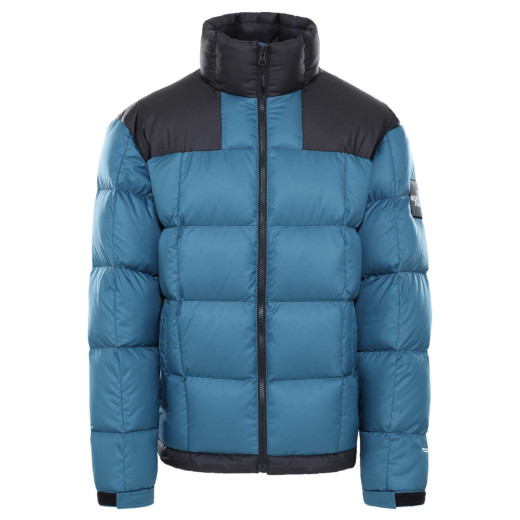 Geaca Puf Drumetie Barbati The North Face M Lhotse Jacket Mallard Blue