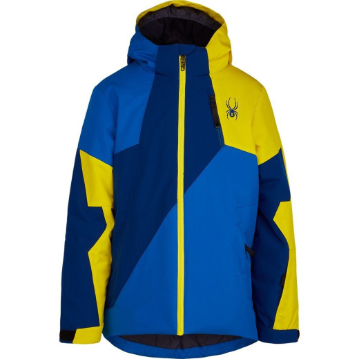 Geaca Ski Copii Spyder Ambush Albastru