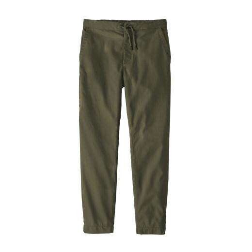 Pantaloni Drumetie Barbati Patagonia Twill Traveler Pants Industrial Green
