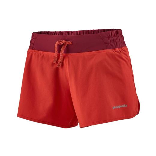 Pantaloni scurti Alergare Femei Patagonia Nine Trails Shorts - 4 in. Catalan Coral