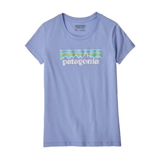 Tricou Fete Drumetie Patagonia Pastel P-6 Logo Organic