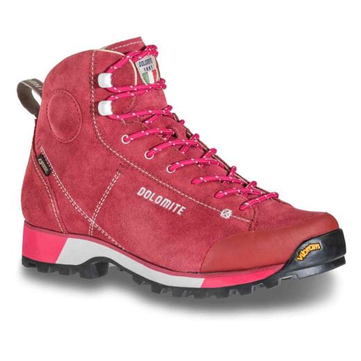 Ghete Drumetie Femei Dolomite 54 Hike Gore-Tex Rosu