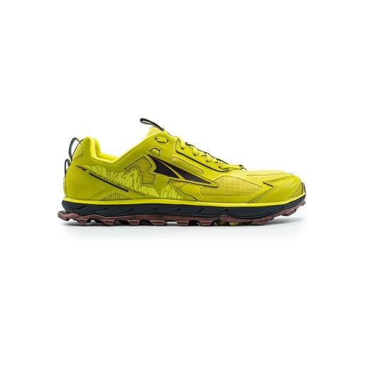 Pantofi Alergare Barbati Altra Lone Peak 4.5 Lime / Red