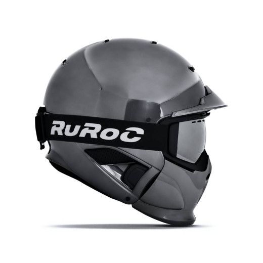 Casca Ski Ruroc RG1-DX Shadow Chrome Limited Edition