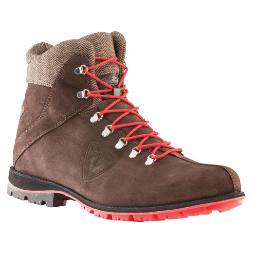 Ghete Rossignol 1907 Chamonix Suede Dark Brown